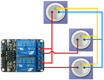 How To Connect C14 And UK AC Mains To Relay - Relay Switch Halfords