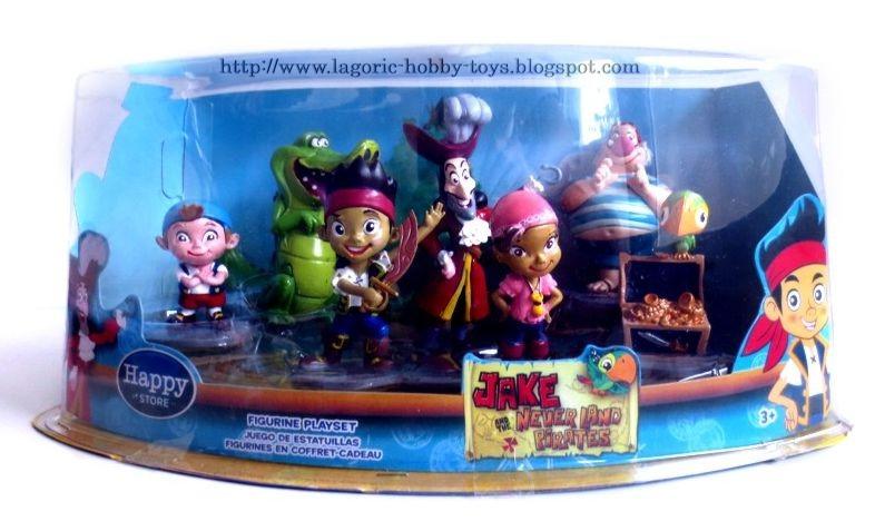 Jake the Neverland Pirates Disney Box Set (isi 7) k3