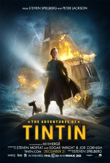 Download Film The Adventures of Tintin (2011) 720p Bluray