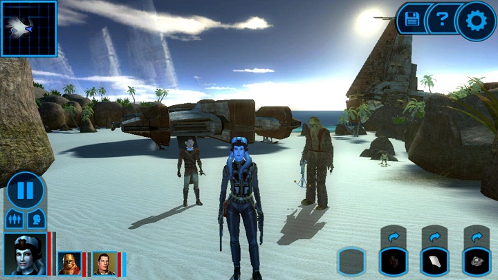 Download Game Star Wars: Knights of the Old Republic v1.0.4 APK + OBB Data Android
