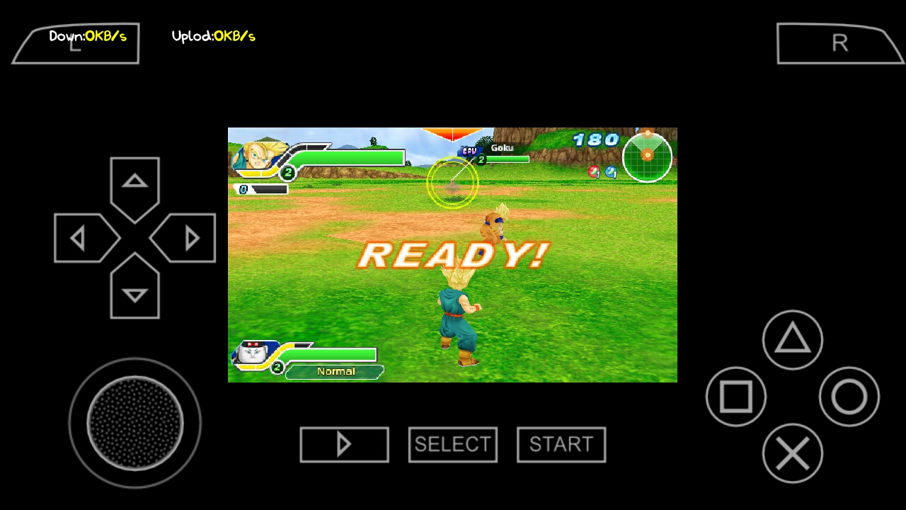 Download Game Dragon Ball Z: Tenkaichi Tag Team ISO PSP