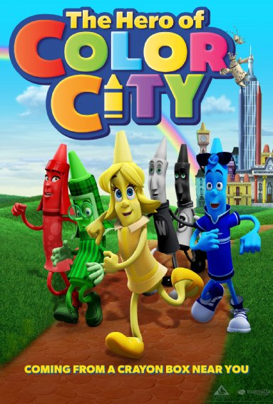 Download Film The Hero of Color City (2014) 720p Bluray