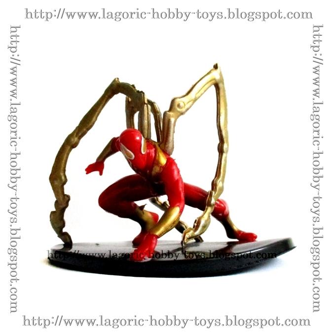 Spiderman Agents Statue Iron Spiderman