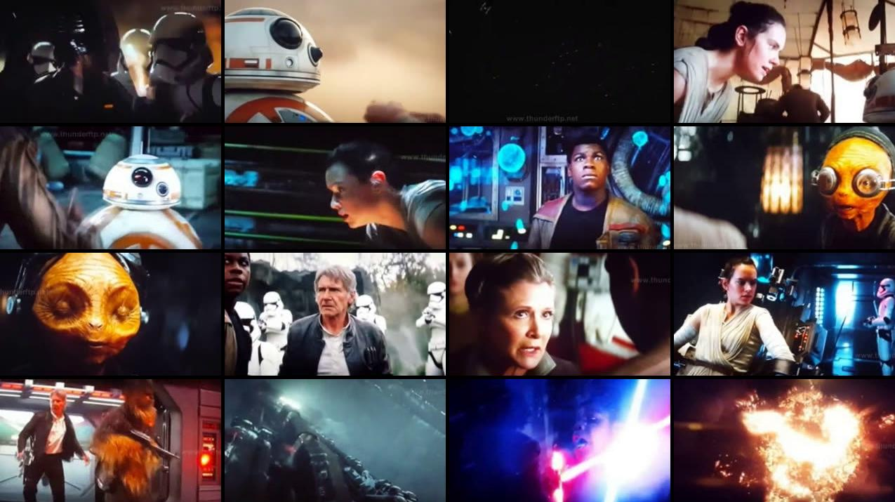 Web download film Star Wars: The Force Awakens (2015) 720p HDCAM