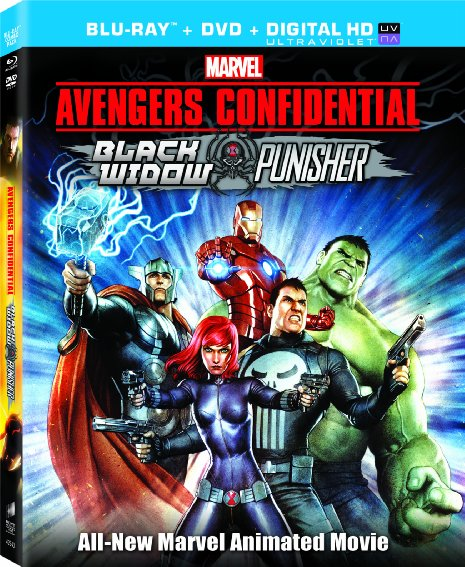 Download Film Avengers Confidential: Black Widow & Punisher (2014) 720p Bluray