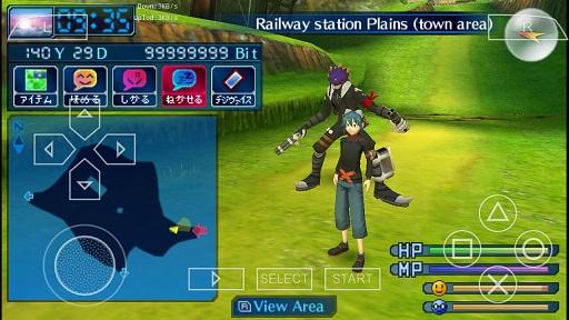 Game Emulator PSP Digimon World Re:Digitize PSP ISO