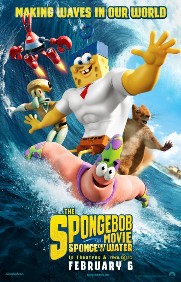 The SpongeBob Movie Sponge Out of Water (2015) 720p BluRay