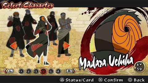 Game Naruto Shippuden: Ultimate Ninja Impact USA ISO PSP