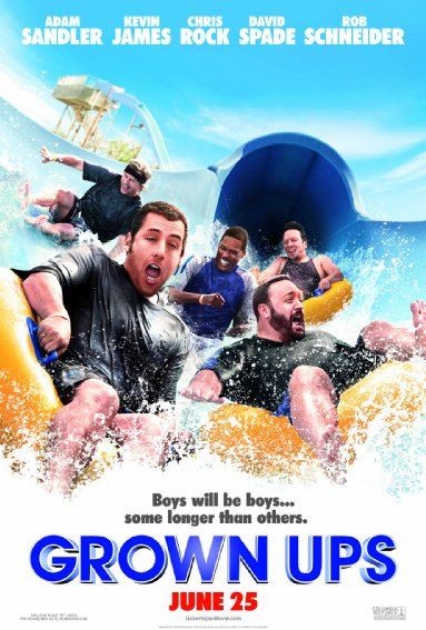 Download Film Grown Ups (2010) 720p BRRip