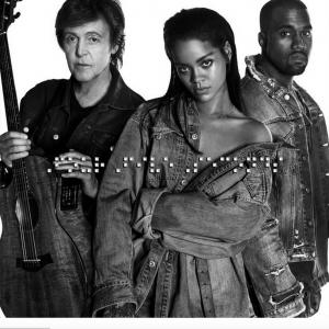 Rihanna, Kanye West, Paul McCartney - FourFiveSeconds 无和声伴奏