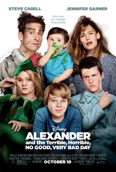 Alexander and the Terrible, Horrible, No Good, Very Bad Day (2014) 720p Bluray
