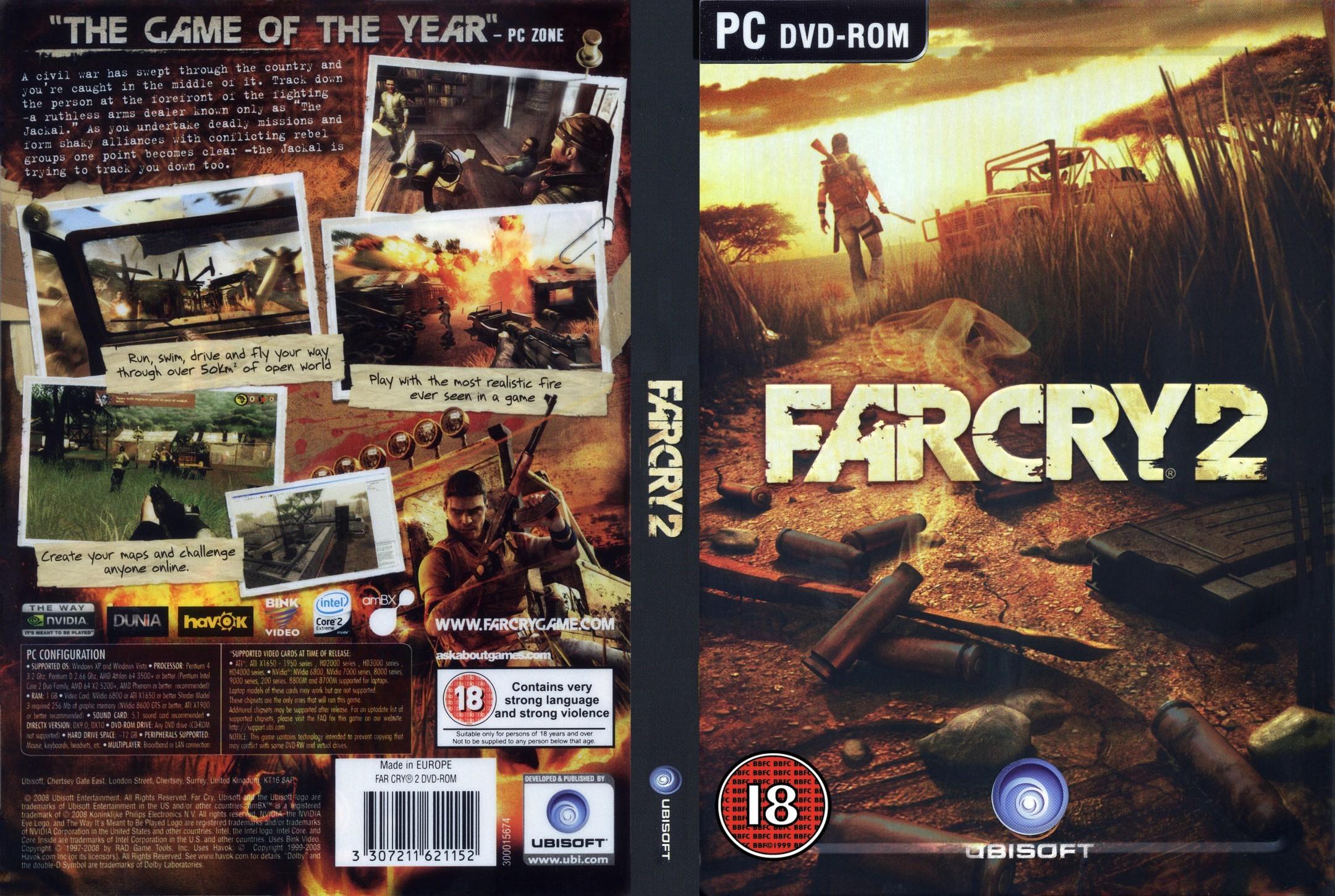ffd40fa084 - Far Cry 2[PC][Mega][Español][3.60GB] - Juegos [Descarga]